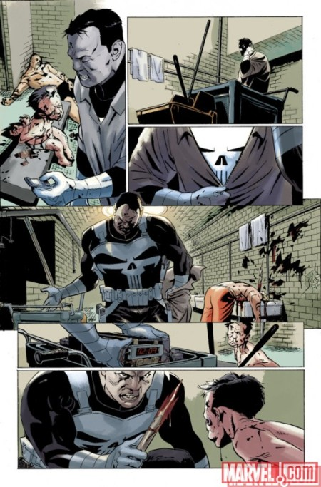 Punisher: In The Blood #1 PREVIEW1