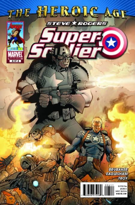 Steve Rogers Super Soldier #4
