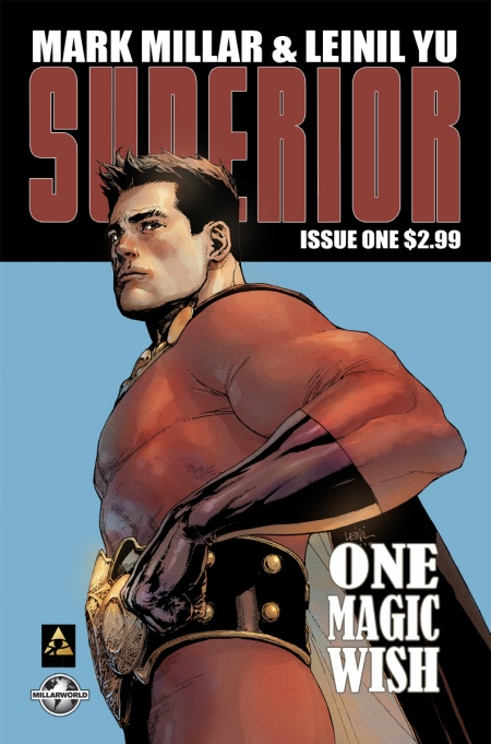 SUPERIOR #1 SECOND PRINTING