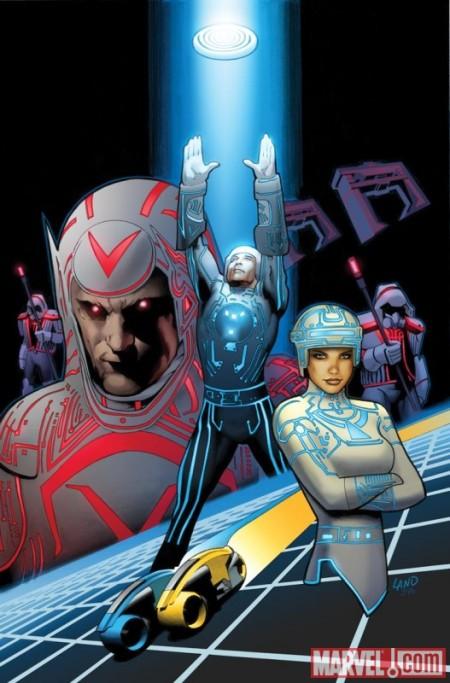 Tron: Original Movie Adaptation #1 COVER