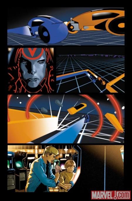 Tron: Original Movie Adaptation #1 PREVIEW3