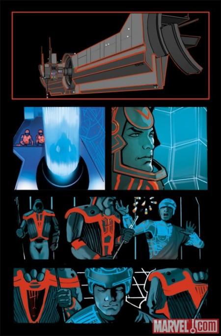 Tron: Original Movie Adaptation #1 PREVIEW4