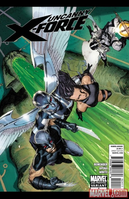 Uncanny X-Force #1 2nd Printing