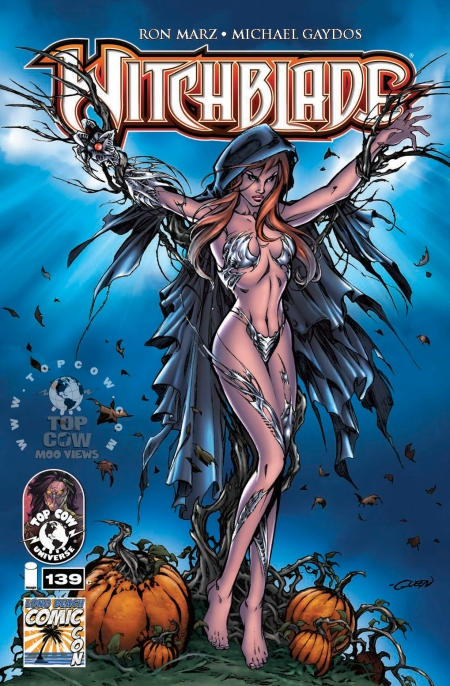 Witchblade #139 COVC_stamped