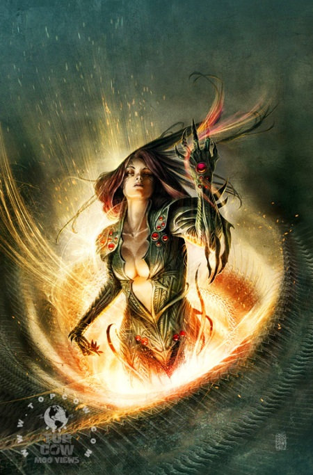 Witchblade #144 COVB Rossbach