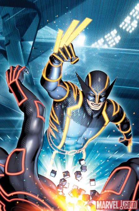 Wolverine #4 Tron Variant