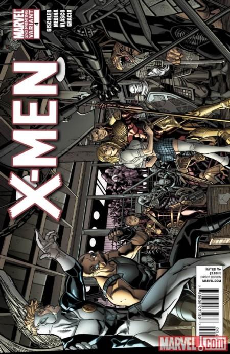 X-Men #4 Second Printing