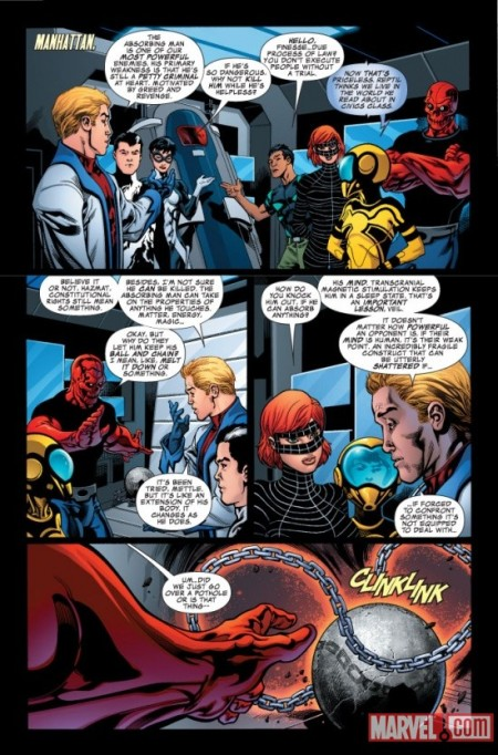 Avengers Academy #7 PREVIEW1
