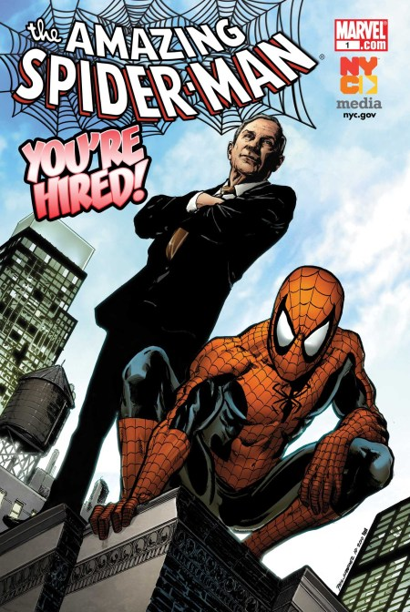 Amazing Spider-Man You're Hired Cover