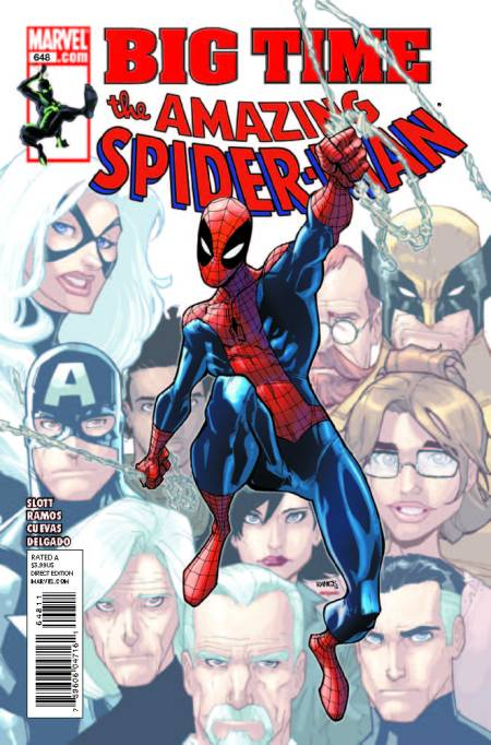 Amazing Spider-Man #648 Cover