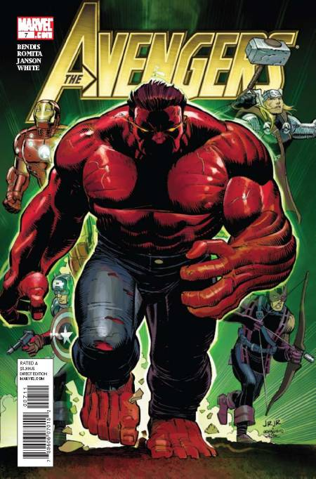 Avengers #7 Cover