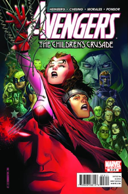 Avengers: Children's Crusade #3 Cover