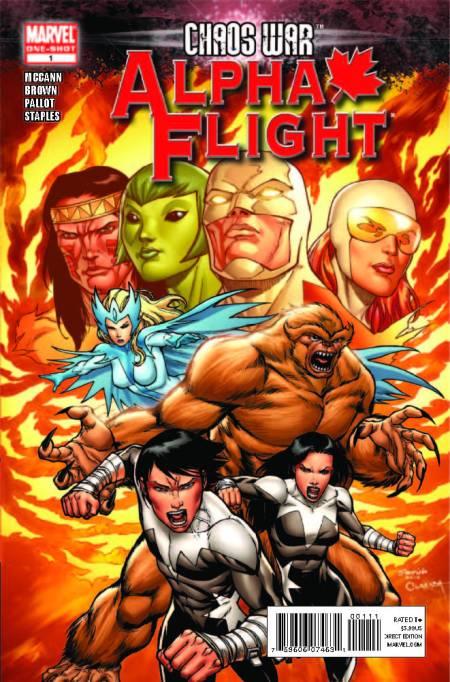 Chaos War: Alpha Flight #1 Cover