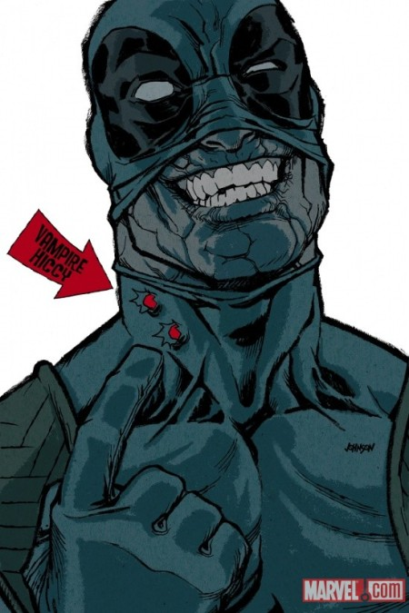 Deadpool #30 COVER