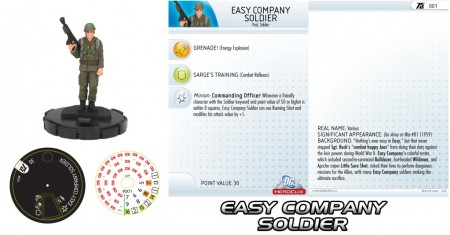Easy Company Soldier Heroclix