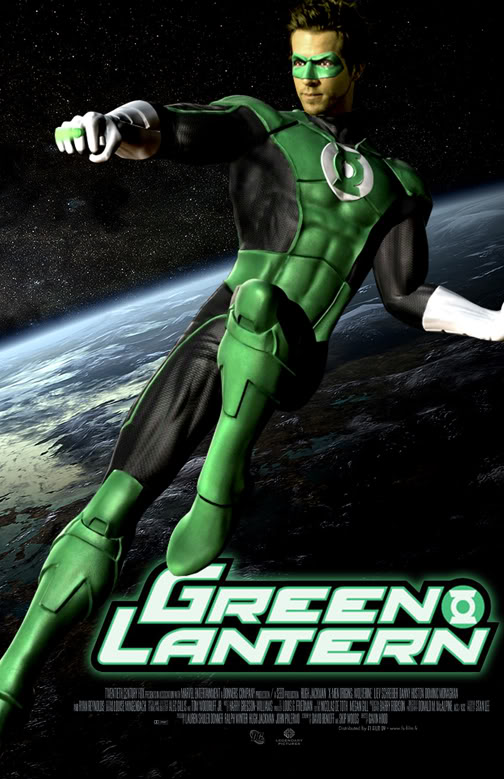 Review - Green Lantern - Graphic Policy Green Lantern Movie Poster
