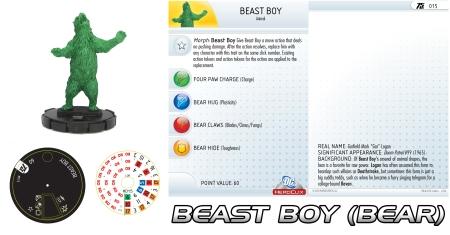 Heroclix Beast Boy Animal