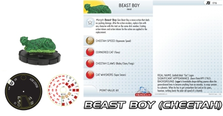 Heroclix Beast Boy Cheetah