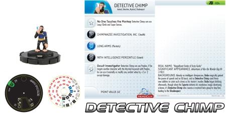 Heroclix Detective Chimp