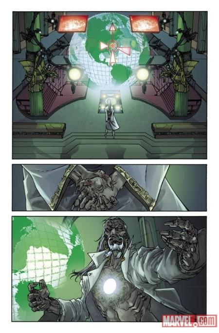 Invincible Iron Man #500 DiGiandomenico