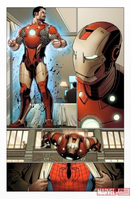 Invincible Iron Man #500 Larroca