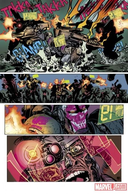 Invincible Iron Man #500 NathanFox