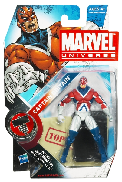 Marvel Universe Captain Britain package