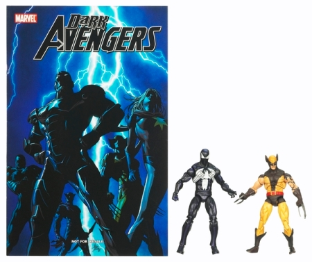 Marvel Universe Dark Wolverine and Dark Spider-man Loose