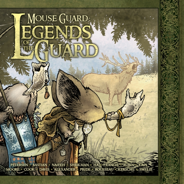 Mouse Guard Legends HC Cover