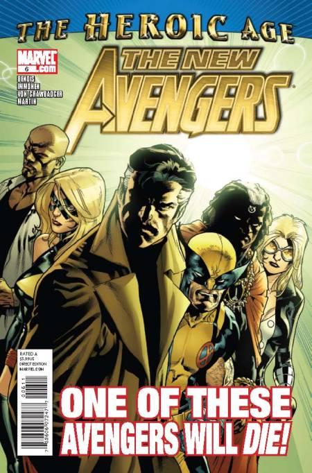 New Avengers #6 Cover
