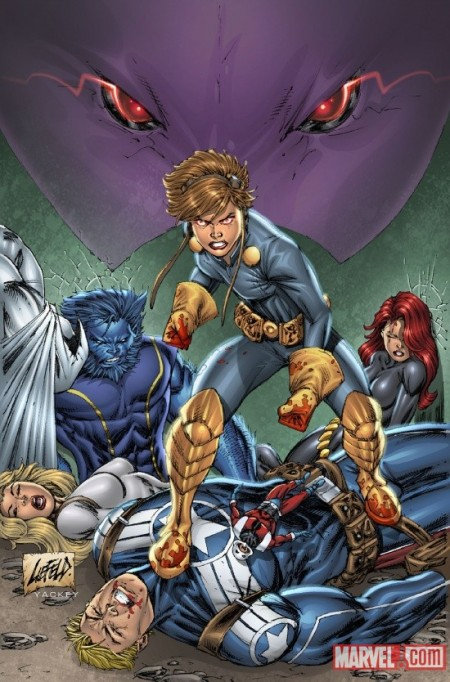 Onslaught Unleashed Liefeld Variant B