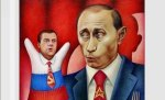 Putin political cartoon