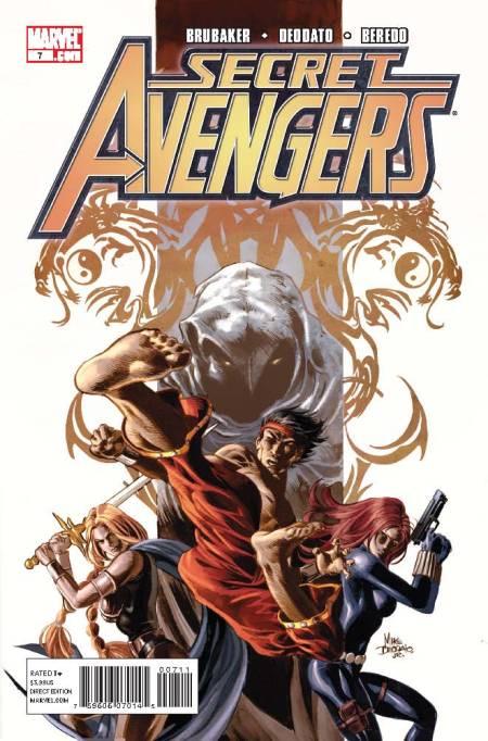 Secret Avengers #7 Cover