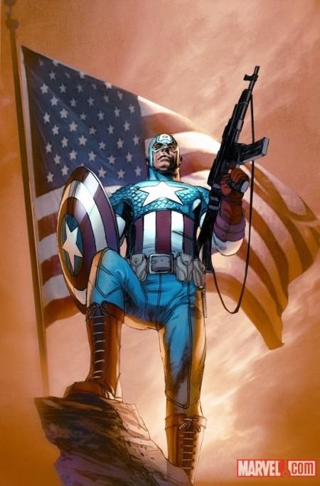 Ultimate Comics Captain America #1 Cover