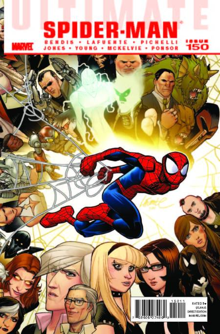 Ultimate Spider-man #150 Cover