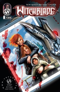 Witchblade #139 COVA_stamped