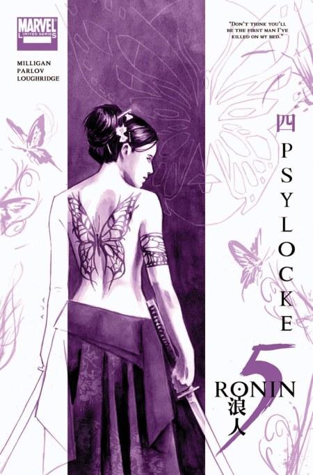 5 RONIN Psylocke