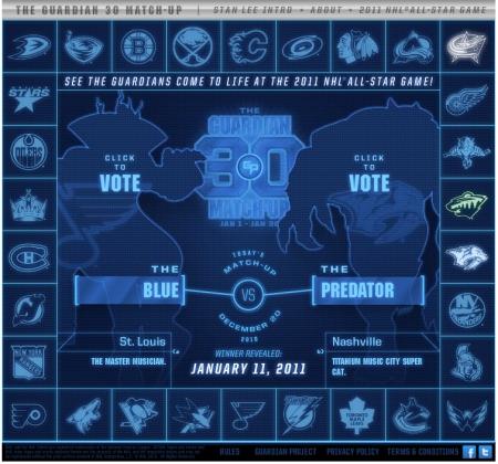 Blue vs Predator