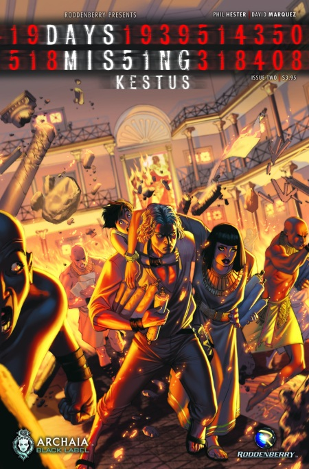 Days Missing Kestus 002 Cover