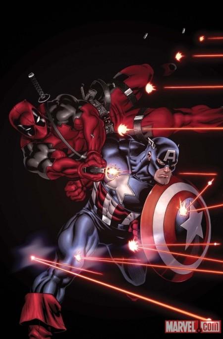 Deadpool #34 Captain America Variant