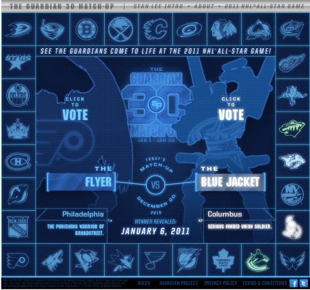 Flyer vs Blue Jacket