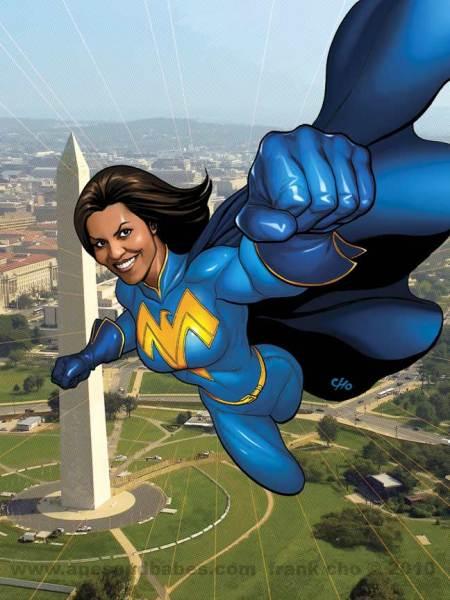 Frank Cho Michelle Obama