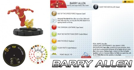 Heroclix Barry Allen Flash