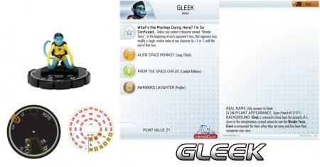 Heroclix Gleek