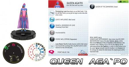 Heroclix Queen Aga'Po