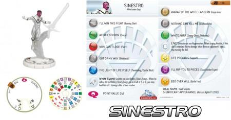 Heroclix White Lantern Sinestro