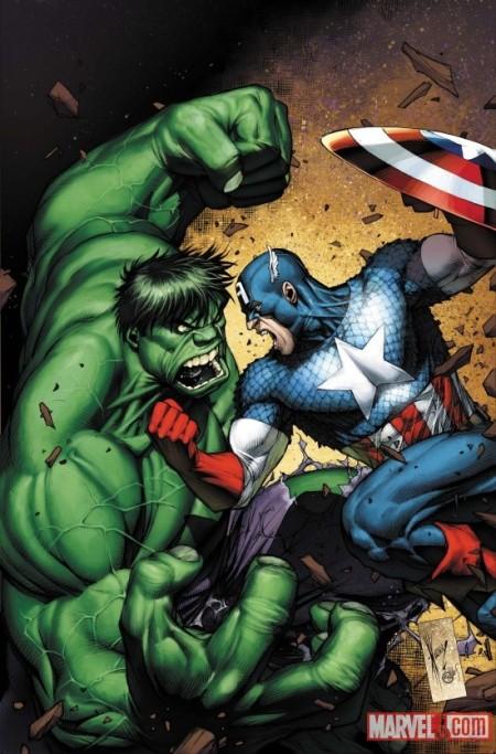 Incredible Hulks #624 Captain America Variant