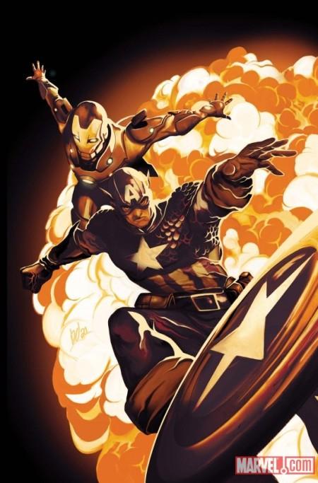 Invincible Iron Man #502 Captain America Variant