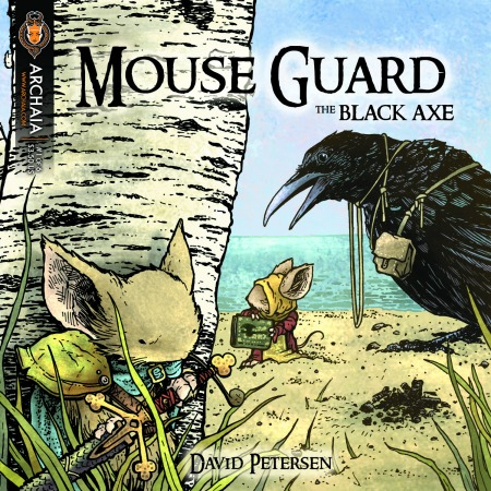 Mouse Guard Black Axe 001 Cover