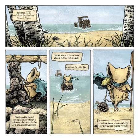 Mouse Guard Black Axe 001 Preview_PG1